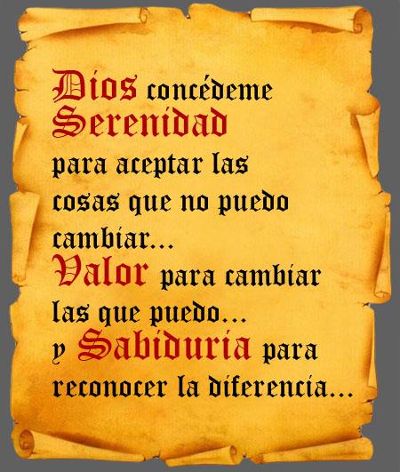 Oracion de la serenidad comedores compulsivos an nimos catalunya oa - Comedores compulsivos anonimos ...